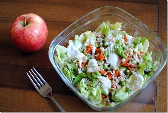 Barbeque Salmon Salad