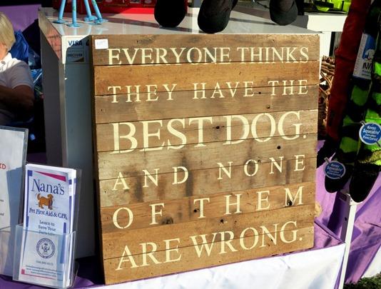 Best Dog Sign
