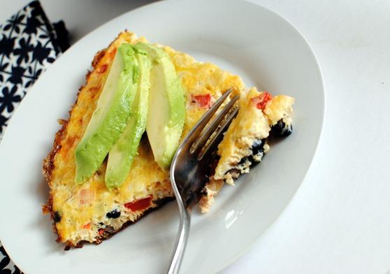 Fiesta Frittata Easy Recipe
