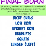 Final Burn Workout