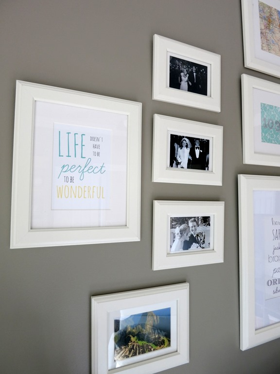 How To Make A Gallery Wall - Peanut Butter Fingers