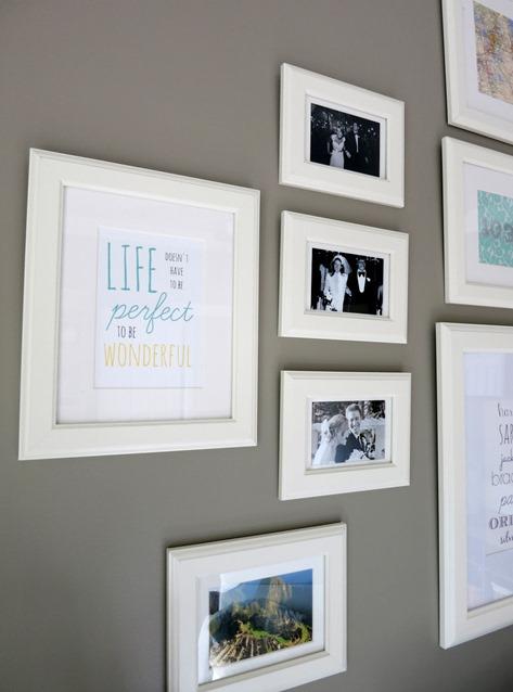 Gallery Wall Frame Ideas