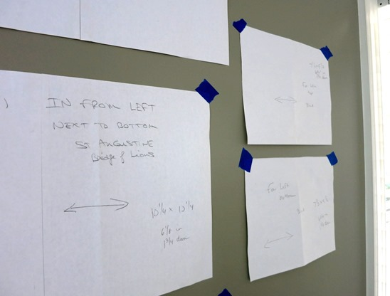 Gallery Wall Measurements