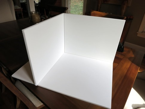 Homemade Photo Box for Food Photography