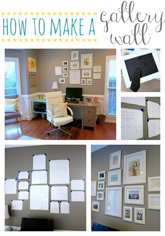 how to make a gallery wall peanut butter fingers. Black Bedroom Furniture Sets. Home Design Ideas