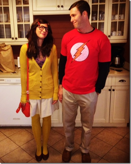 Amy And Sheldon Halloween Costumes