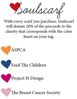 Soulscarf Donations