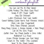 Spinning Class Workout Playlist