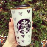 Starbucks Heart Travel Tumbler