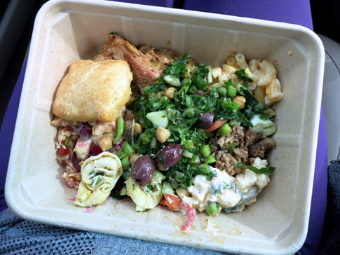 Whole Foods Hot Bar Lunch
