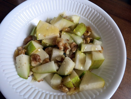 pear honey walnut