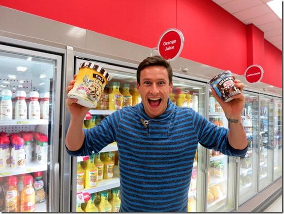target ice cream aisle