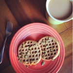 waffles pumpkin seeds