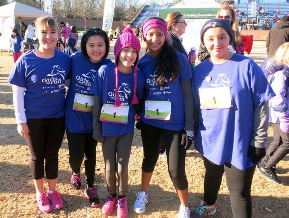 Girls On The Run team