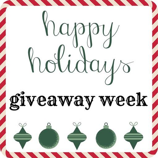 Happy Holidays Giveaway Week