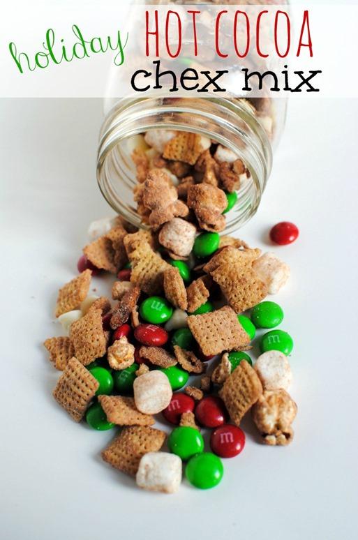 Holiday Hot Cocoa Chex Mix
