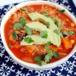 Southwestern Shrimp Soup
