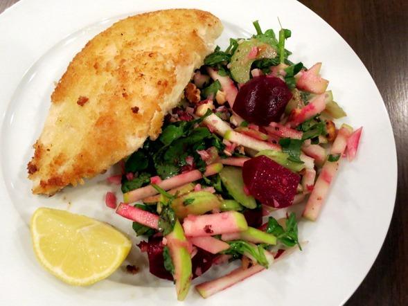blue apron chicken schnitzel