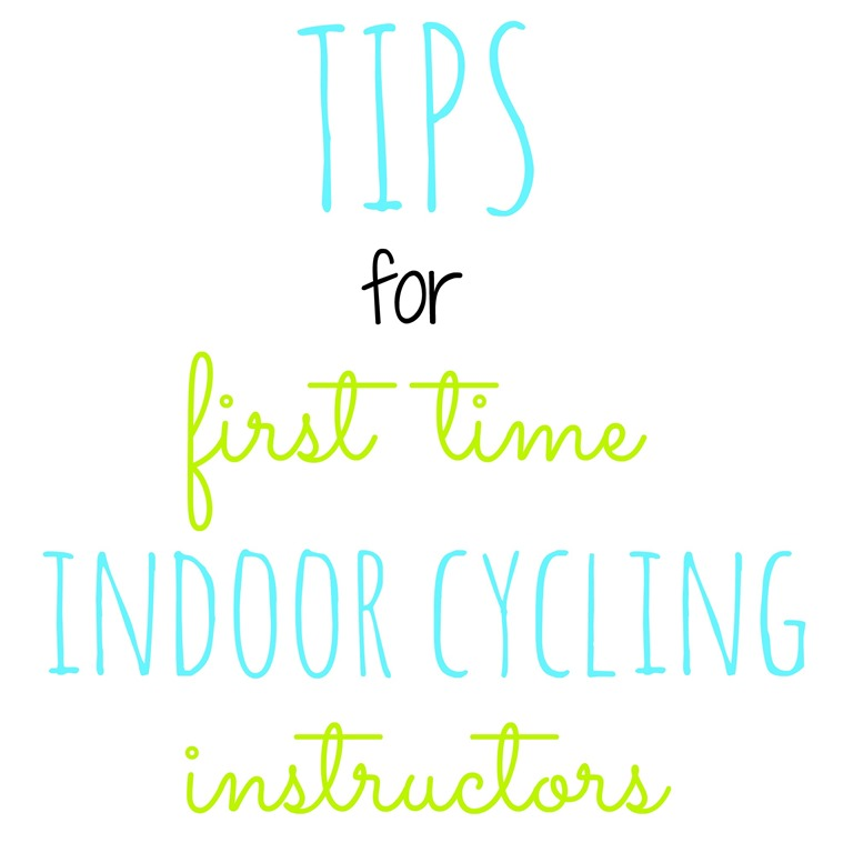 Tips for First Time Indoor Cycling Instructors - Peanut Butter Fingers