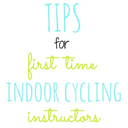tips for first time indoor cycling instructors