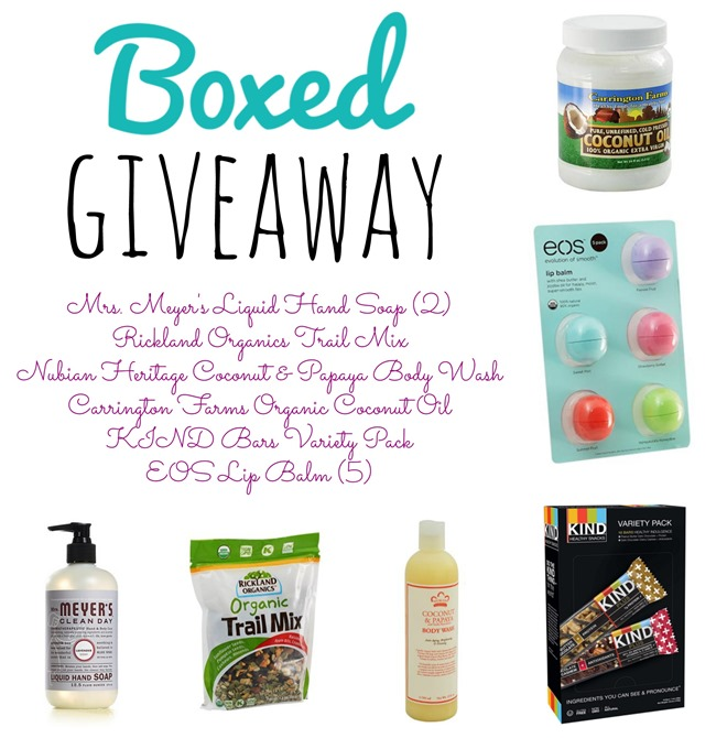 Boxed Giveaway