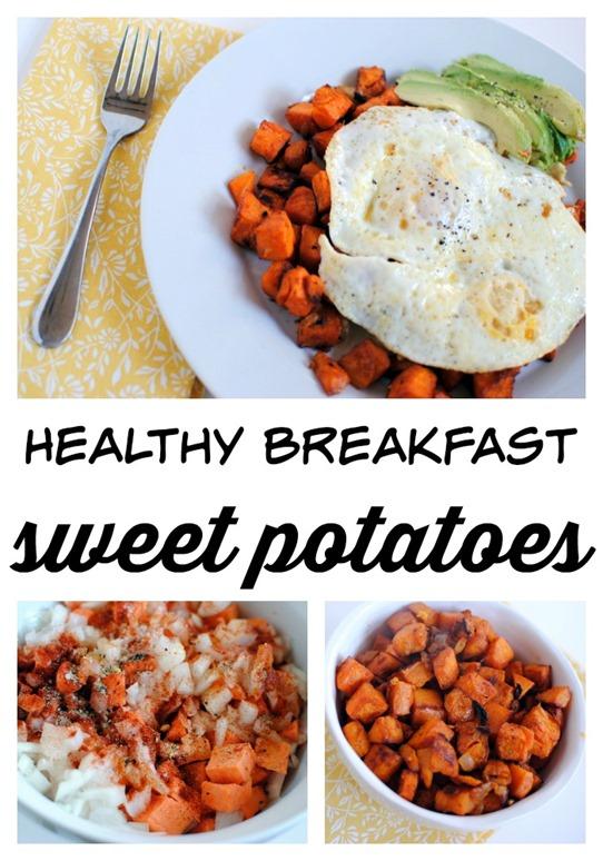 Healthy Breakfast Sweet Potatoes Recipe