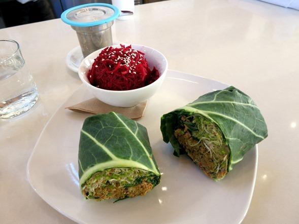 Luna's Living Kitchen Veggie Burger