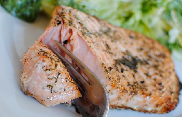 Paleo Coconut Butter Salmon