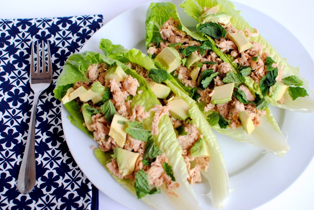 Thai Chicken Lettuce Wraps + The Fitnessista's HIIT It! Book ...
