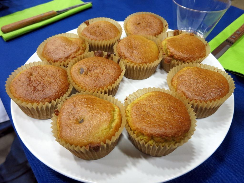 orange chocolate paleo muffins