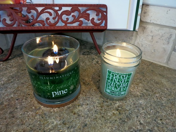 pine candles