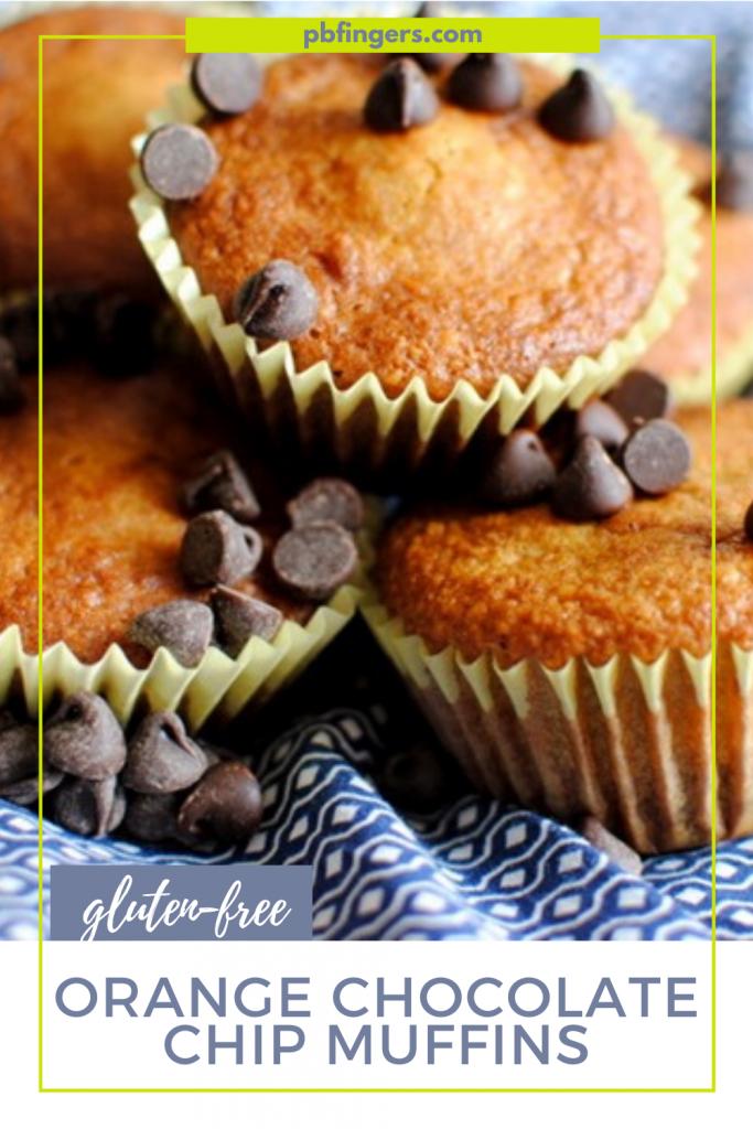 Gluten-Free Orange Chocolate Chip Muffins