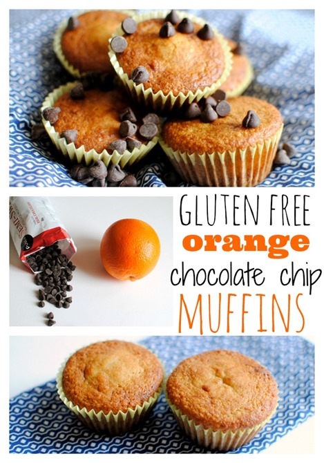 Gluten-Free Orange Chocolate Chip Muffins | Peanut Butter Fingers