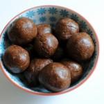 Easy Chocolate Cranberry Energy Balls