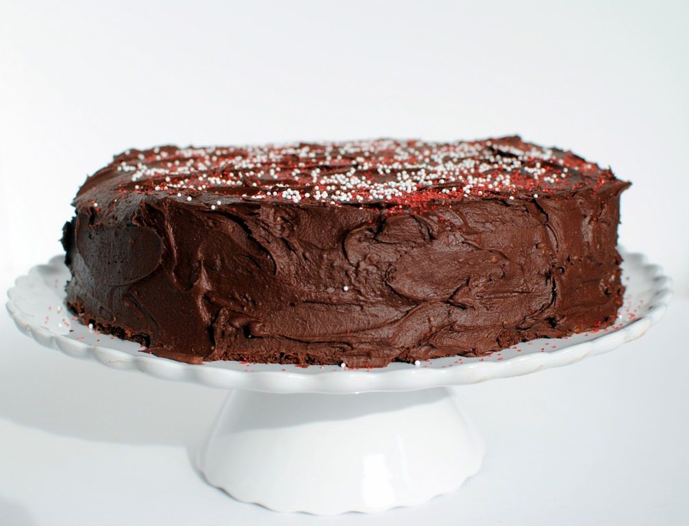 "Homemade S Mores Cake Recipe: Gluten-Free HERSHEY'S ""Perfectly Chocolate"" Chocolate Cake"