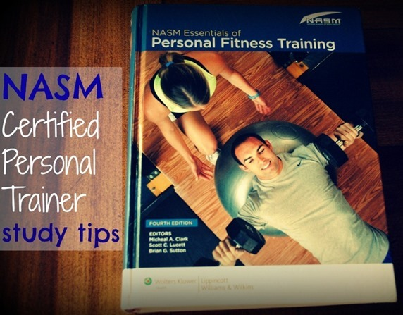 NASM Personal Trainer Study Tips