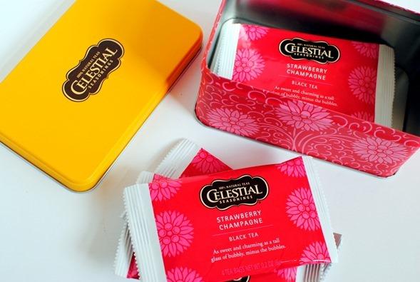 Strawberry Champagne Tea Celestial Seasonings