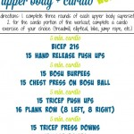 Upper Body Cardio Workout