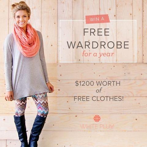 WP Free Wardobe Giveaway