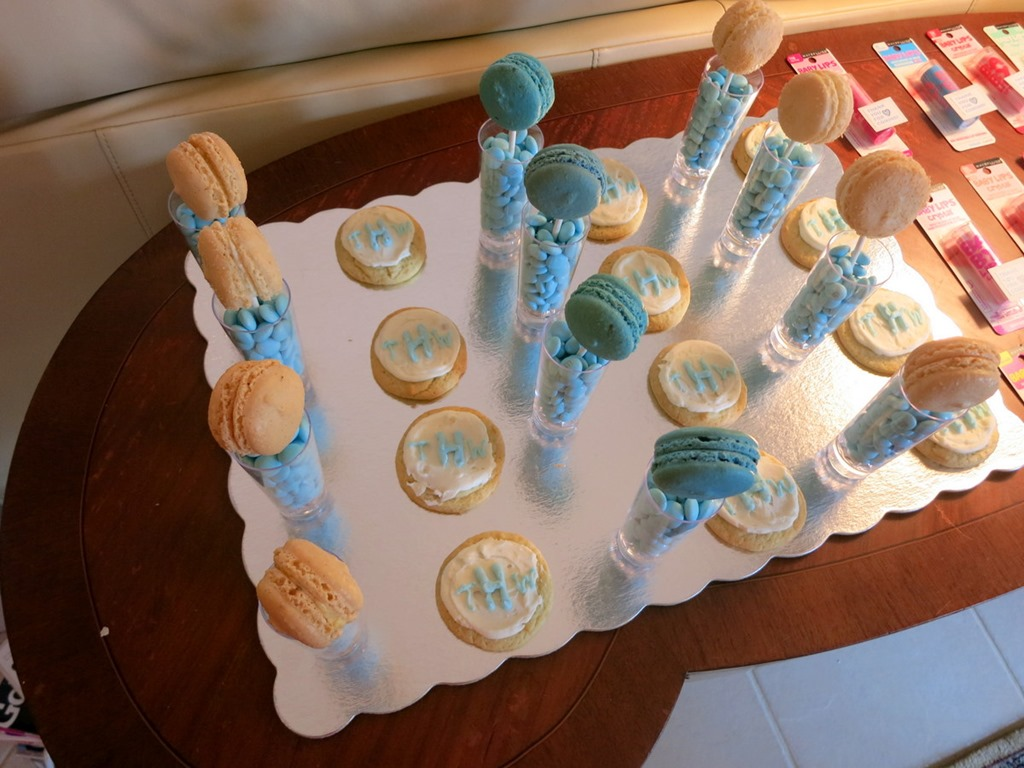 Baby Shower Dessertg Peanut Butter Fingers