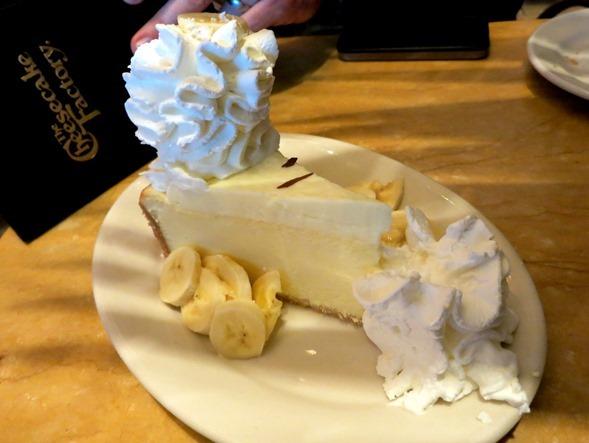 banana cream cheesecake factory