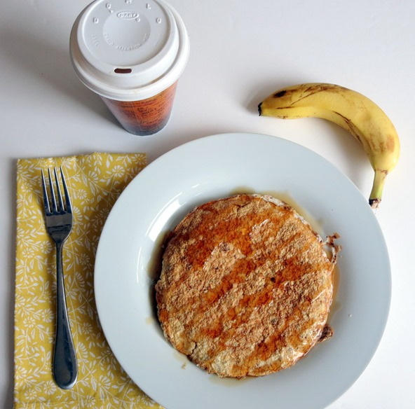 egg white oatmeal pancake
