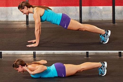 hand release push up