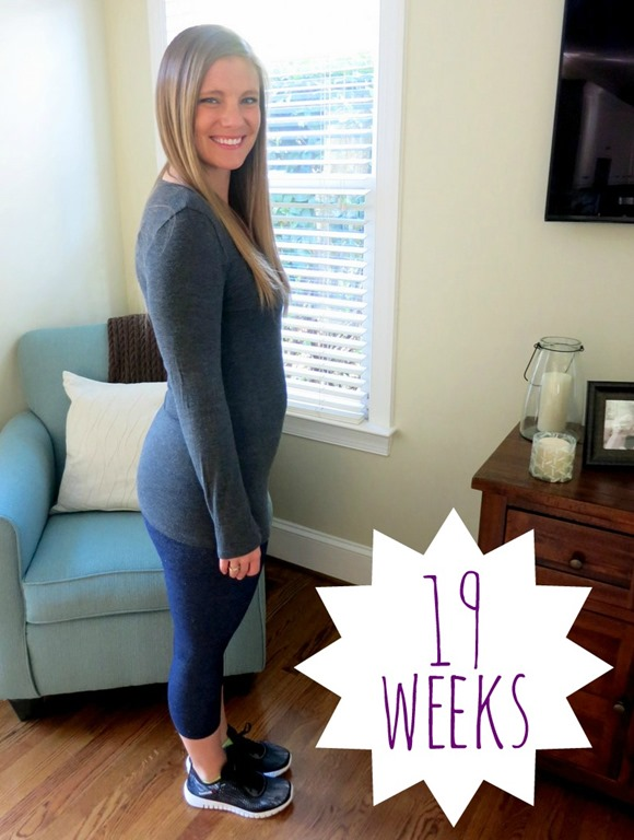 Hoping to wear the same top i wore in my 11 week and 18 week pregnancy