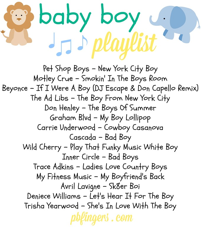 Exceptional Baby Boy Playlist