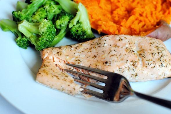 Easy Lemon Dill Salmon Recipe