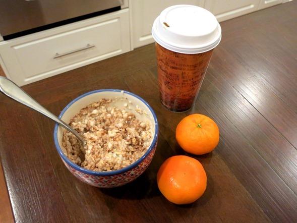 Egg White Protein Oatmeal