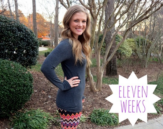Eleven Weeks Pregnant