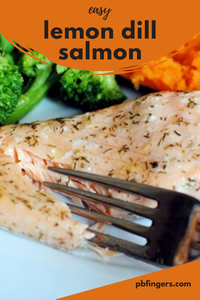 Easy Lemon Dill Salmon