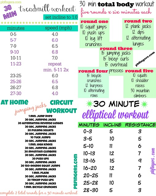 Four 30 Minute Workouts.jpg